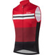 Löffler Giro Bike Jersey Sleeveless Men red/black